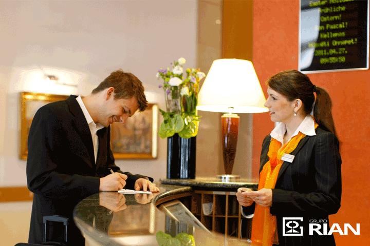 atendimento ao cliente, grupo rian, recepção terceirizada